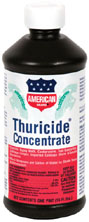 American Thuricide Concentrate sold in 8 oz. and 16 oz