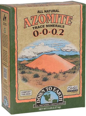 Down To Earth Azomite Powder