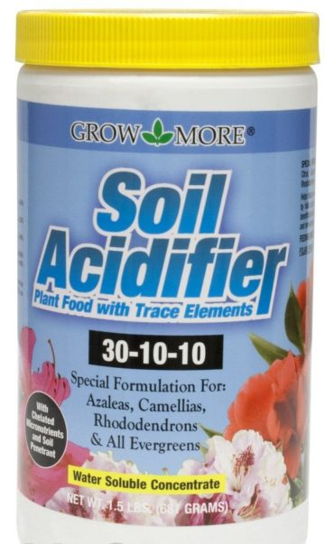 Grow More Soil Acidifier