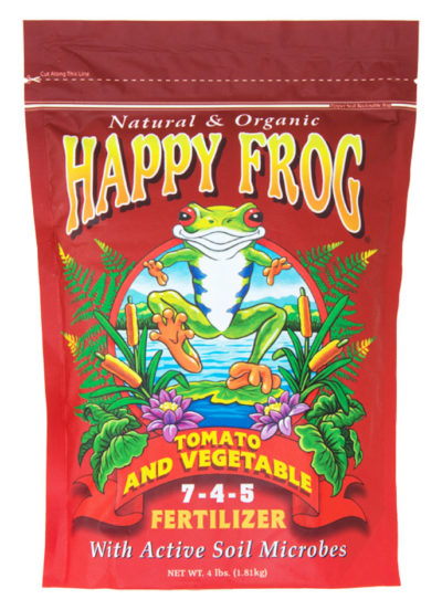 Happy Frog Tomato and Vegetable Fertilizer