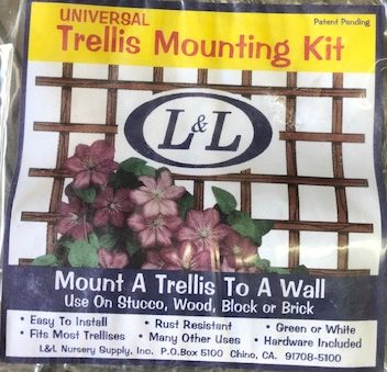 Trellis Mounting Kit