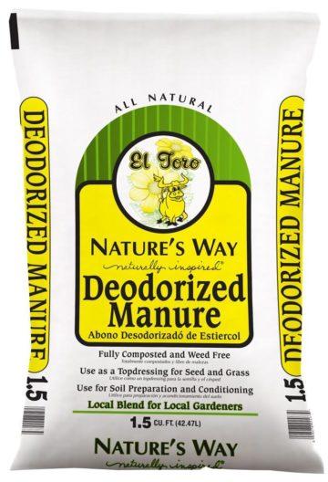 Nature's Way Deodorized Manure