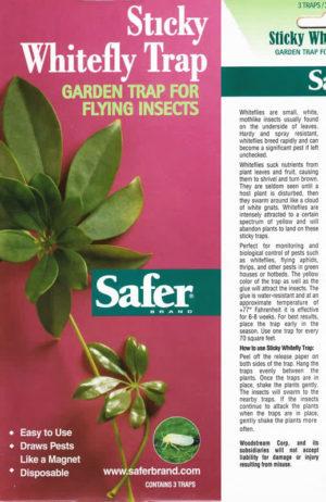 Safer Sticky Whitefly Trap